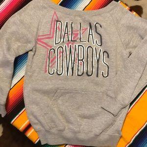Dallas Cowboys Scoopneck Sweatshirt